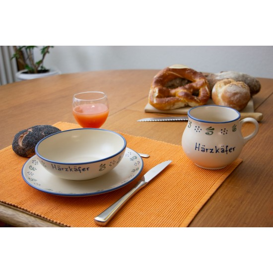 Molly mug & Breakfast plate & Bowl - Amerland Set of 3