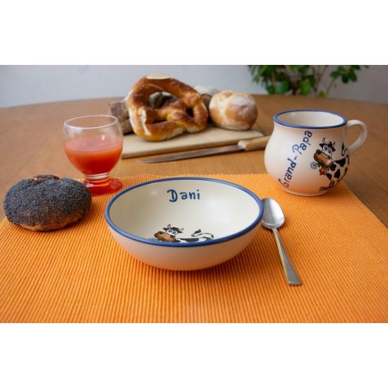 Molly mug/Bowl - Cow Set of 2