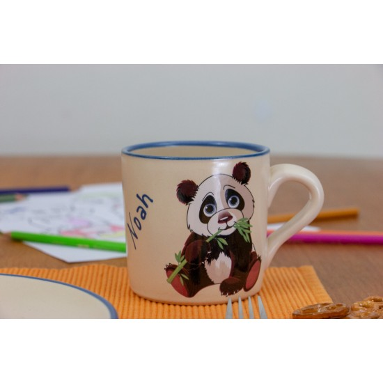 Named children cup - Panda