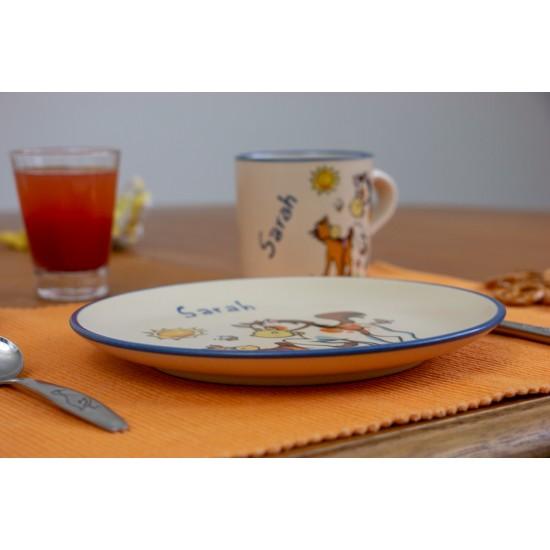 Breakfast plate - Horse/Pony