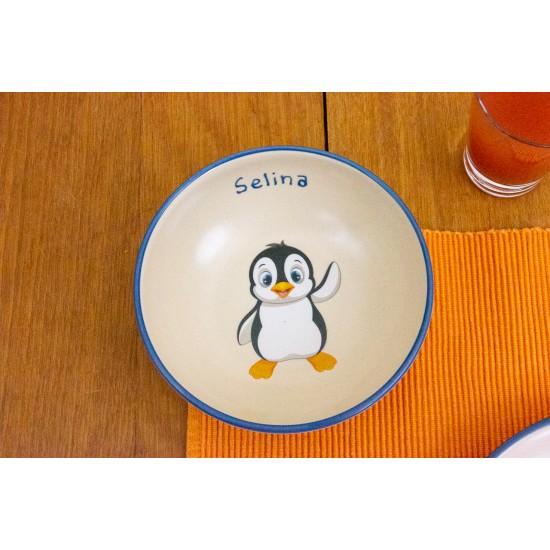 Schale - Pinguin