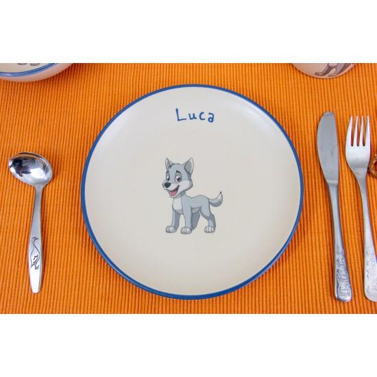 Breakfast plate - Wolf