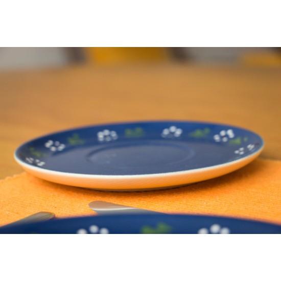 Saucer - Bunzlau blue