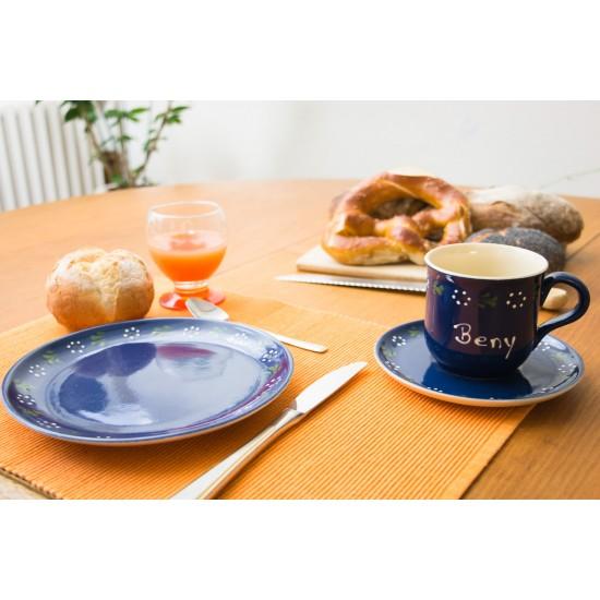 Namenstasse - Bunzlau blau