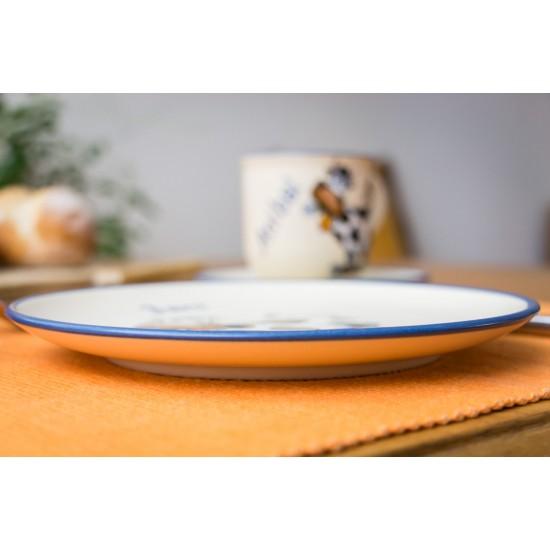 Breakfast plate - Cow