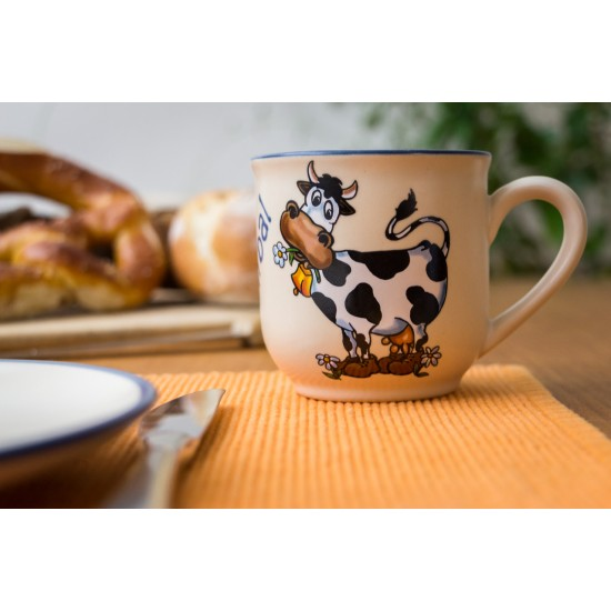 Named mug - cow